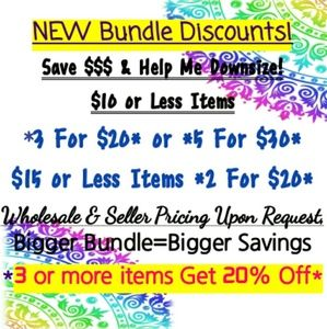 Liquidation Sale! Bundle Discounts!
